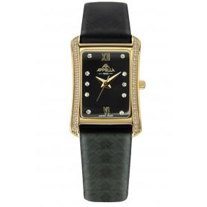 Женские часы Appella A-4326A-1014 Черный