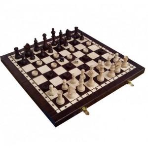 Комплект Madon шахматы/шашки/нарды 40.5х40.5 см (с-141)