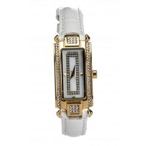 Женские часы Nexxen-12501CL GP/SIL/WHT Белый