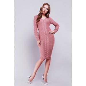 Платье Jill 26539-16 вязаное 42-46 Розовый