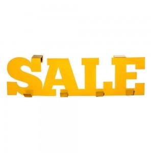 Вешалка металлическая Wanted Sale Желтая