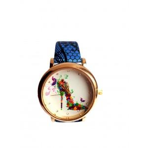 Часы женские CFTY Синие (ТС-0032)