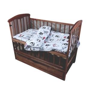 Комплект постельного белья Moorvin Gold Lux Полуторный 150х215 (GLP_117_0171)