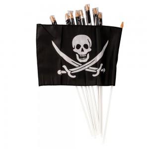 Флаг Веселый Роджер Черный (flagpirat)