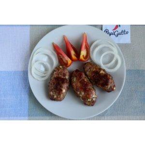 Люля-кебаб из свинины с сыром