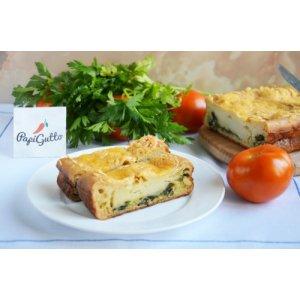 Пиріг зі шпинатом і сиром