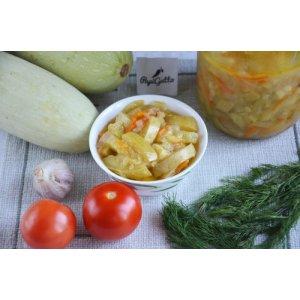 Салат із кабачків на зиму
