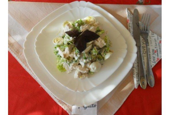 Салат із курки