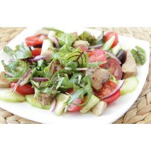 Салат із печінки тріски