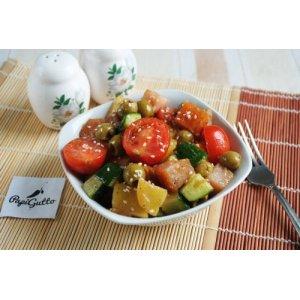 Салат із копченою куркою