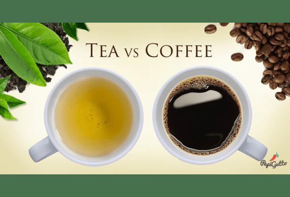 Порівняння чаю і кави