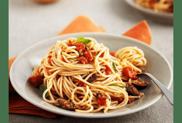 Рецепт: Секрети правильного приготування спагеті