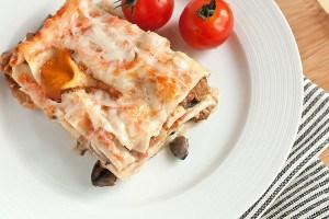 Рецепт лазаньї з грибами для вегетаріанців 6