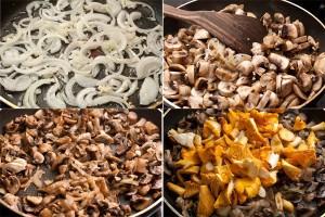 Лазанья с грибами для вегетарианцев 2
