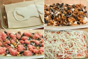 Лазанья с грибами для вегетарианцев 5