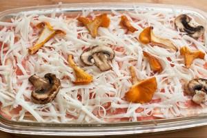 Рецепт лазаньї з грибами для вегетаріанців 5