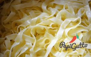 Паста (спагеті) з грибами в ніжному вершковому соусі 4