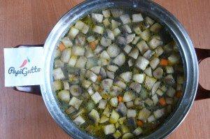 Грибной суп 11