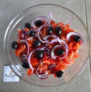Грецький салат 7