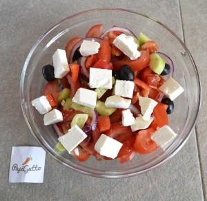 Греческий салат 8