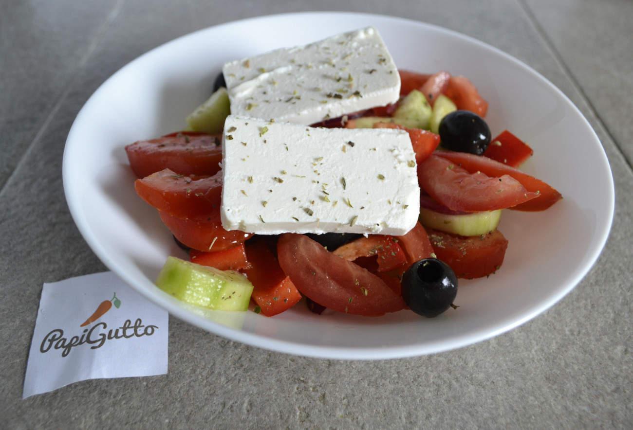 рецепт на грецький салат