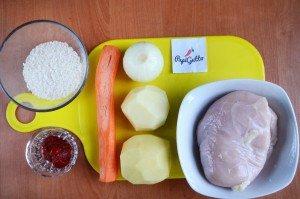 Рисовый суп 1