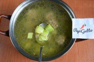 Суп из кабачков 12