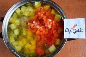 Суп из кабачков 13