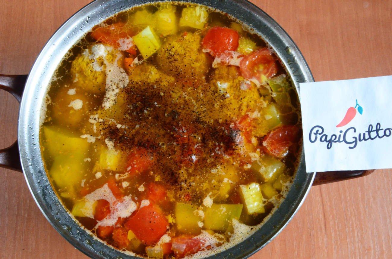 Суп с кабачком фото рецепт пошаговый