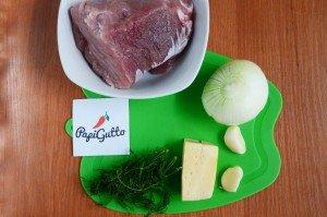 Люля-кебаб из свинины с сыром 1