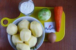 Картофельники (картофельные зразы) 1