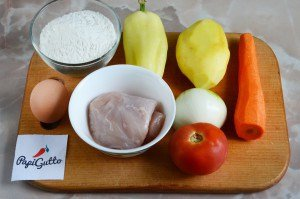 Куриный суп с домашней лапшой 1
