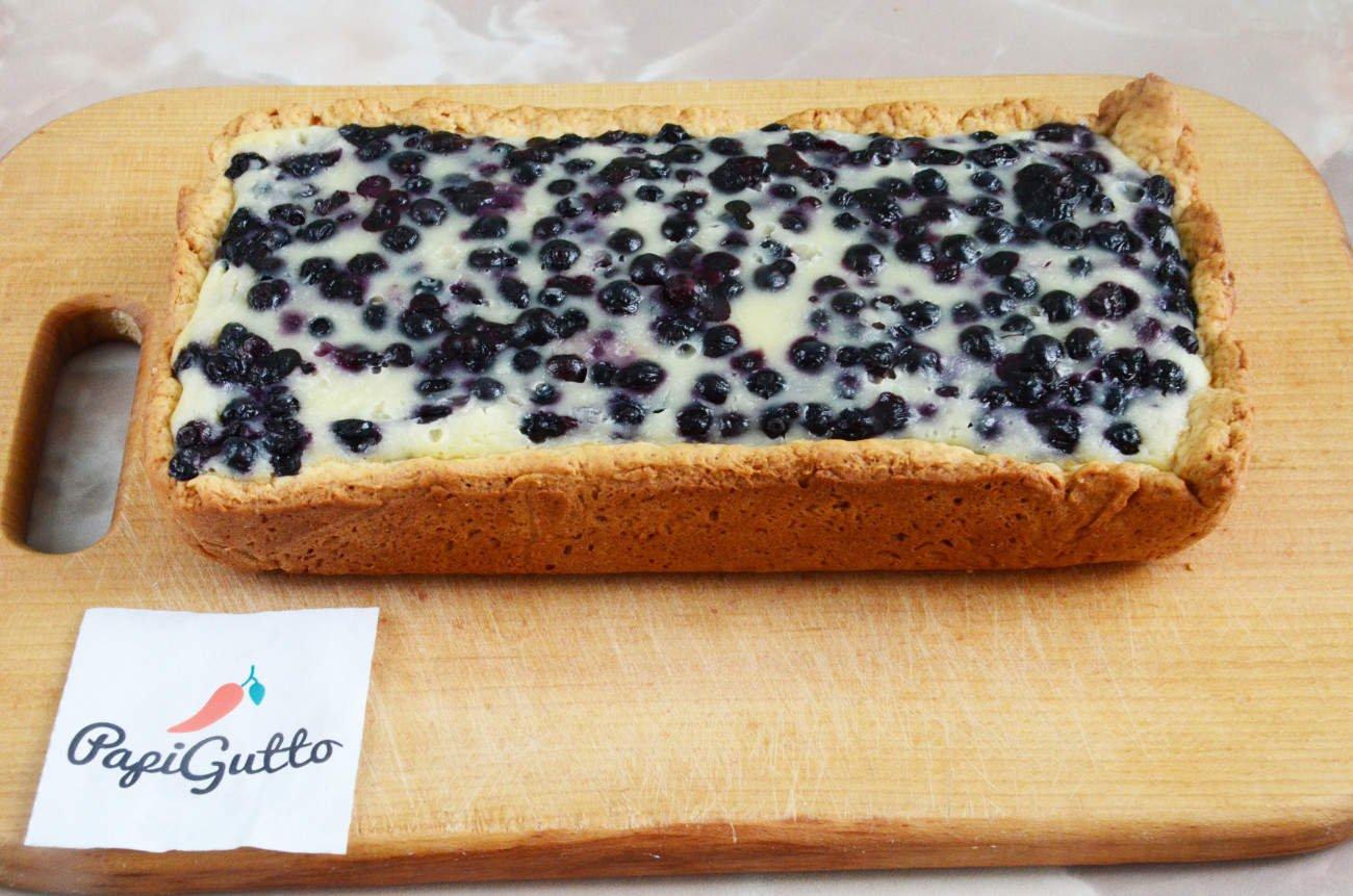 Пирог с черникой рецепт в домашних условиях