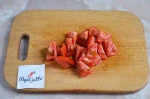 Стручковая фасоль тушеная с овощами 6