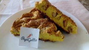 Бісквітний пиріг iз яблуками 13