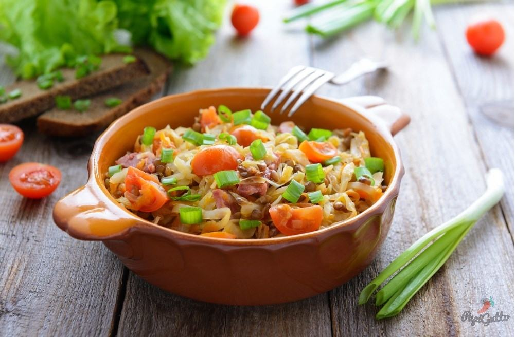овощное рагу с мясом рецепт с фото