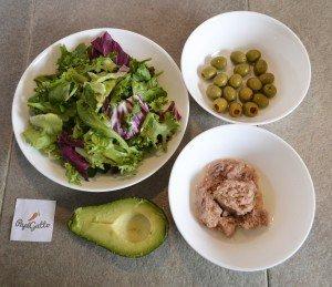 Салат с тунцом 1