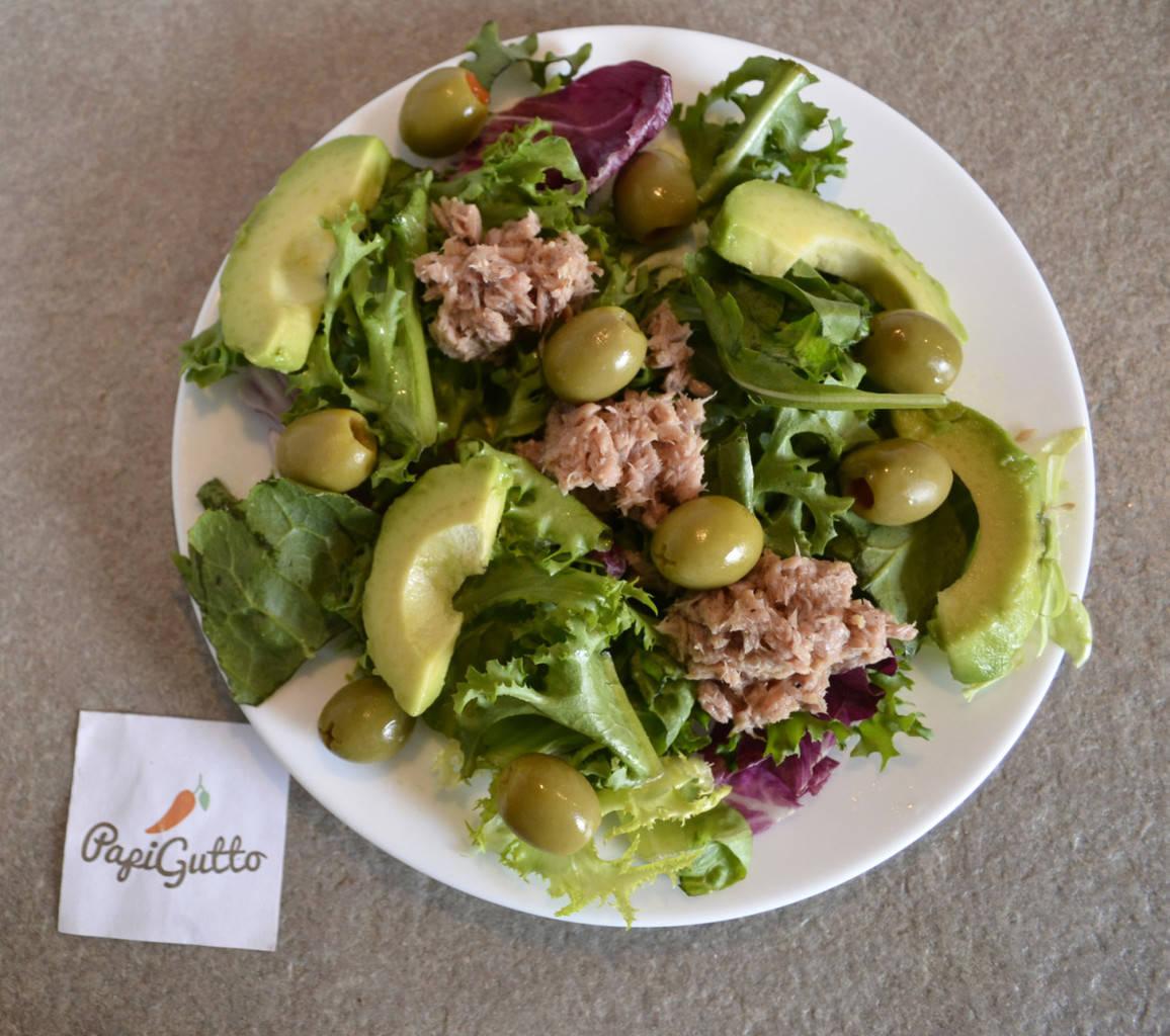 рецепт салат с тунцом и яблоком и