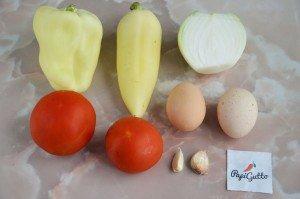 Шакшука (яичница с помидорами) 1