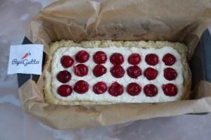 Творожный пирог с вишней 13