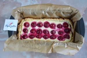 Творожный пирог с вишней 14