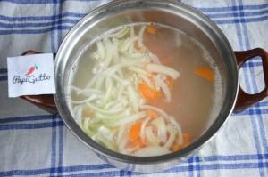 Сырный суп 8