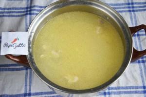 Сырный суп 10