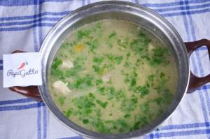 Сырный суп 11