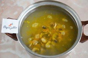 Суп с шампиньонами 11
