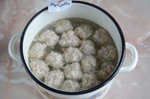 Суп с фрикадельками 6