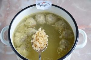 Суп с фрикадельками 11