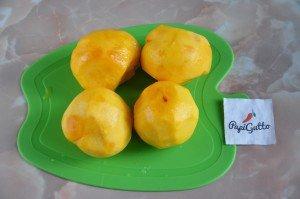 Пирог с персиками 10