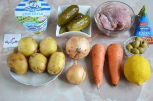 Суп солянка 1