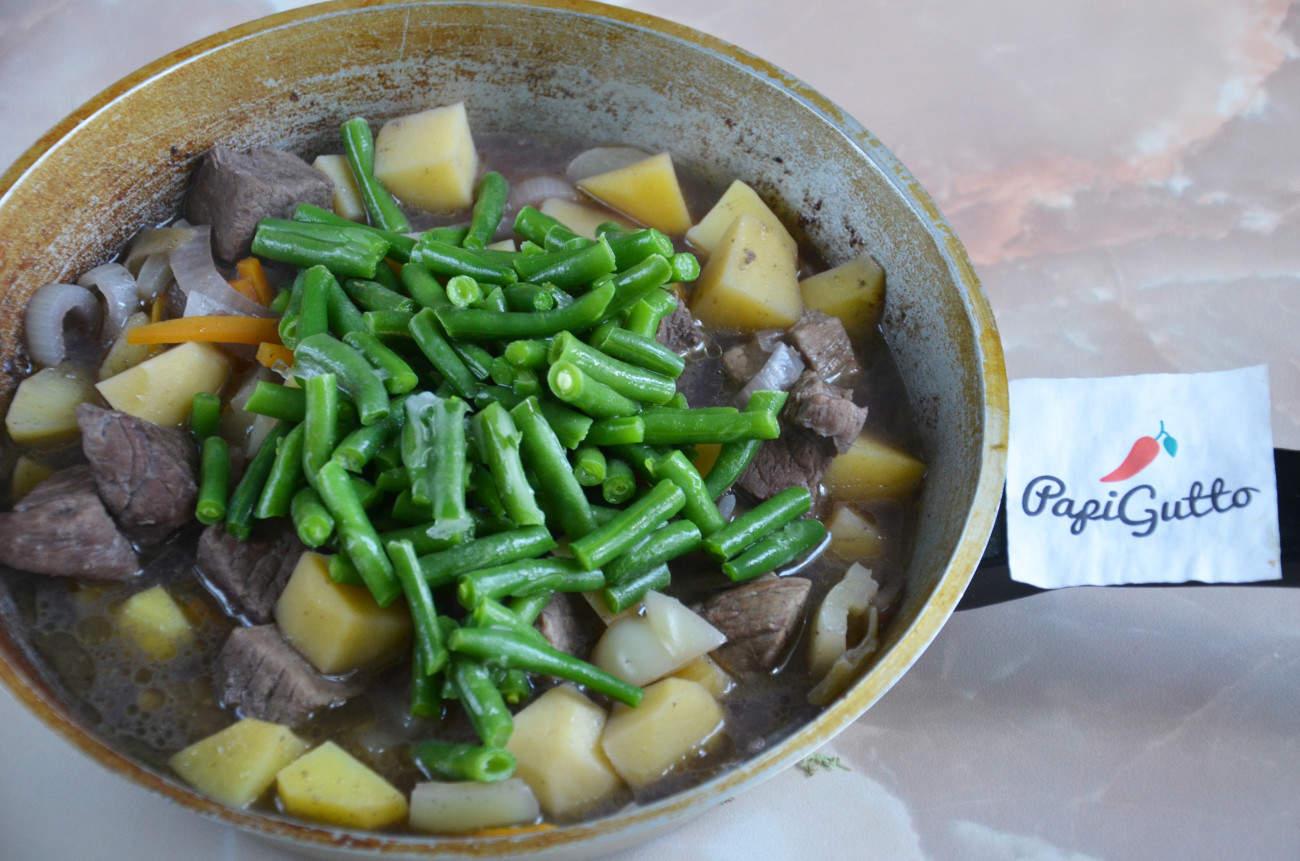 Стручковая фасоль с мясом Блюда по-домашнему с фото по шагам рецепта 8